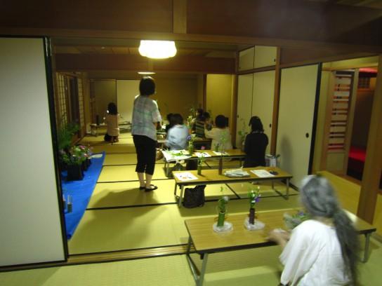 茶花の入れ方教室